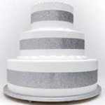 Seattle-Washington silver pop out four feet high four feet round cake