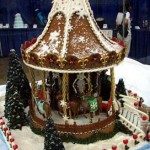 Christmas-carousel-custom-decorated-gingerbread-playground