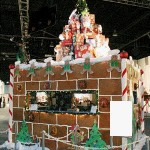 Giant-six-foot-high-ginger-bread-castle