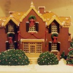 Louisiana-Christmas-gingerbread-mansion-custom-trees-doors-windows