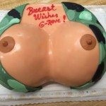 Join your army New Jersey bombers breast cake