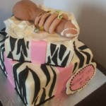 Double-Decker-Dick-zebra-stripped-pink-ribbon-erotic-cake