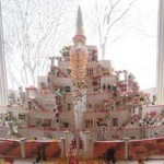 Kansas-city-Decorated-Christmas-multi-level-gingerbread-fortress