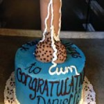 Queens-New-York-City-Too-Tall-Titan-Dripping-stand-up-dick-cake